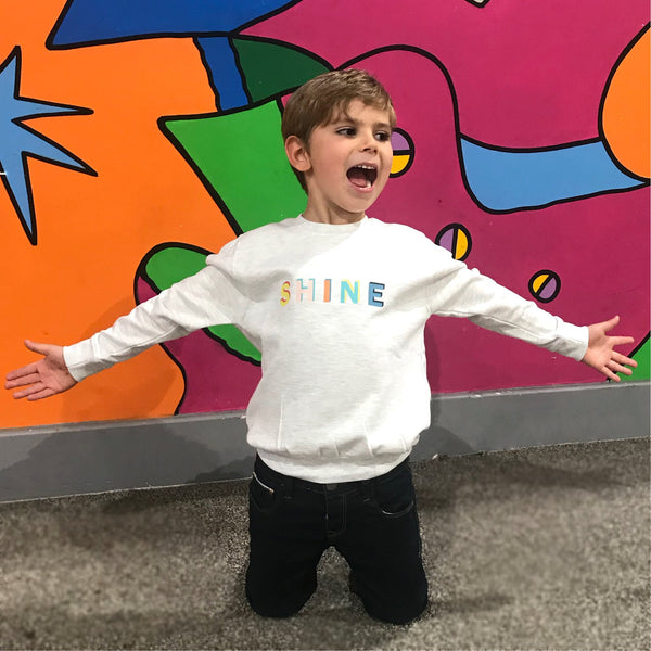 'Shine' Unisex Kids Sweatshirt