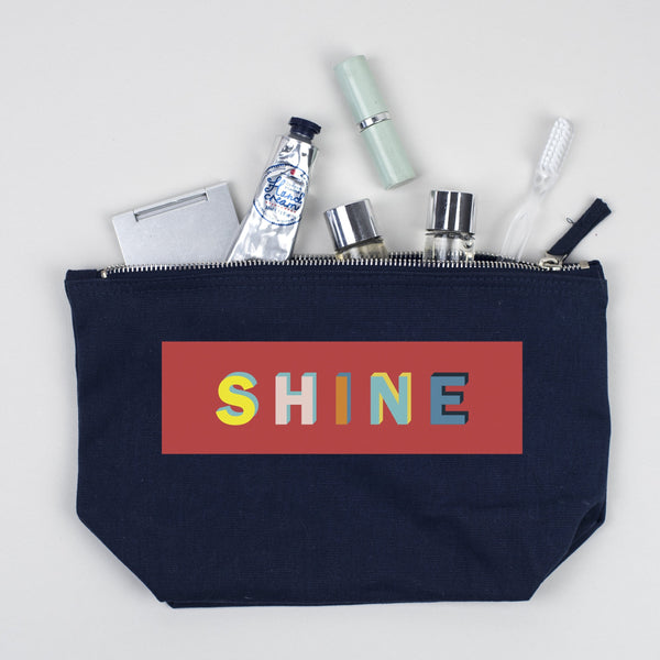 Shine Make Up Pouch/Accessories Case