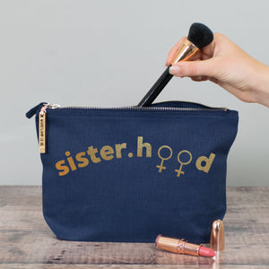 Sisterhood Make Up Pouch/Accessories Case