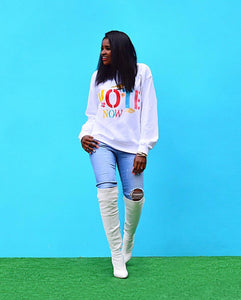 Styling DIY 'Vote Now' Sweatshirt