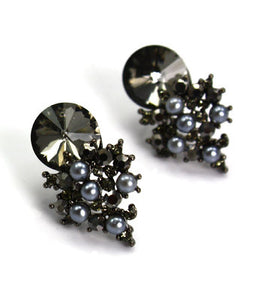 Jewel Post Earrings