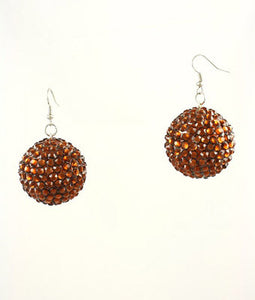 Cluster Globe Earrings