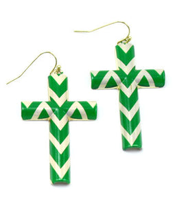 Seren Cross Earrings