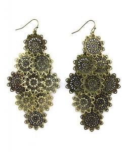 Doily Discs  Earrings