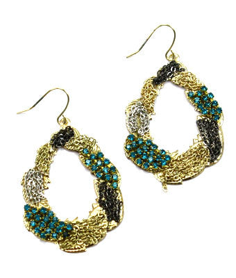Amberly Hook Earring