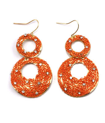Joann Oval Hook Earrings