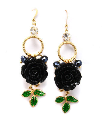 Flora Hook Earrings