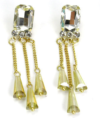 Olivia Chandelier Post Earrings