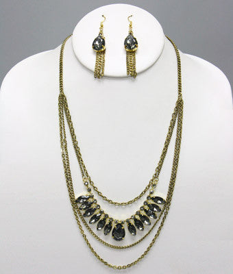 Marvel Antique Necklace Set