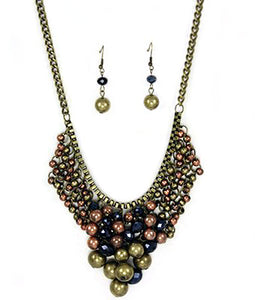 Julie Bead Necklace Set
