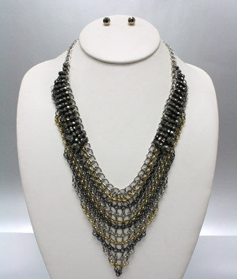 Maille Pearl Necklace Set