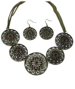 Imani Antique Necklace Set