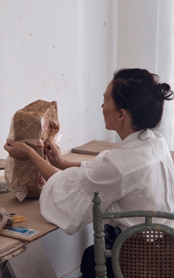 In conversation with the exceptional ceramicist Anna-Karina