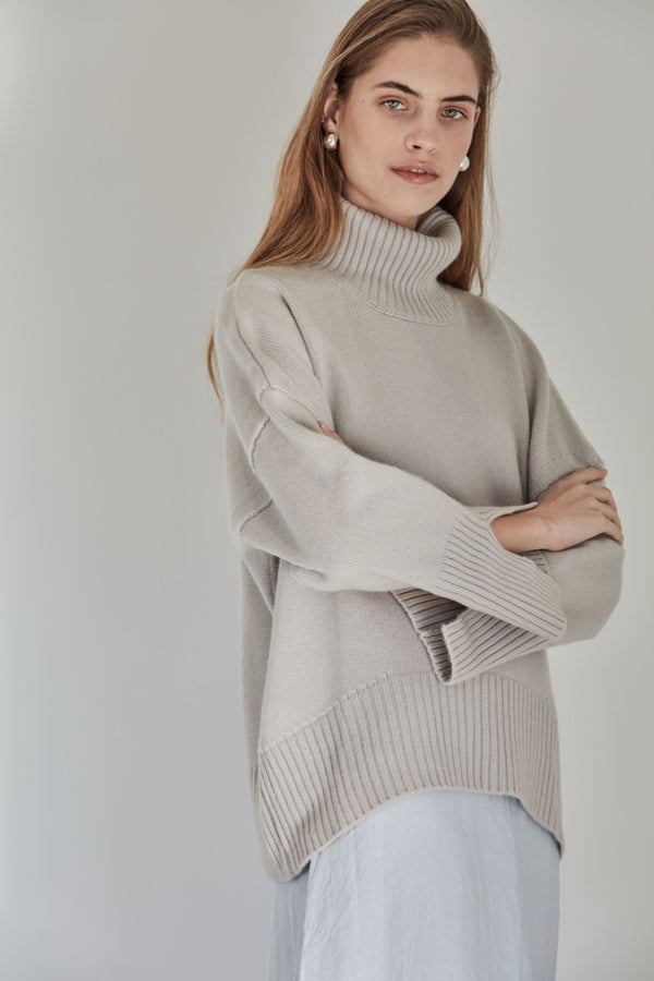 The Cashmere Lounge Sweater | Dove