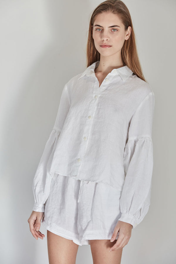 Corbusier Crop Shirt | Blanca