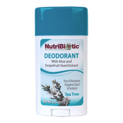 NutriBiotic Deodorant, Tea Tree
