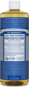 Dr. Bronner's Liquid Pure Castile Soap Peppermint