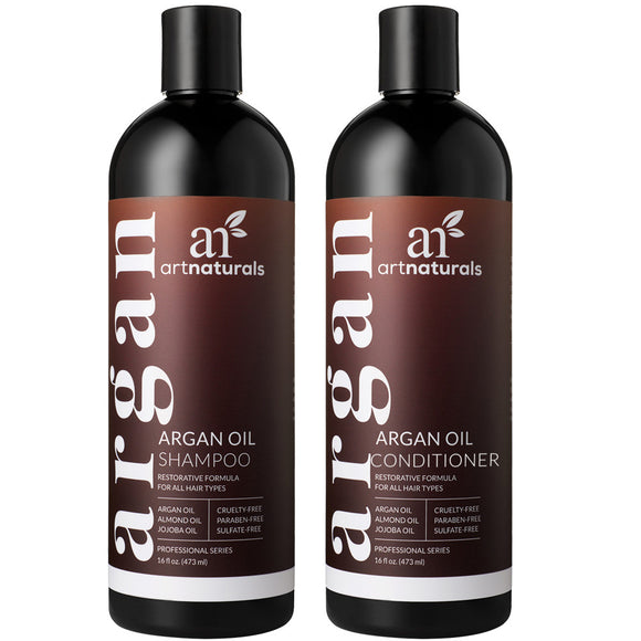 ArtNaturals Argan Oil Shampoo  Conditioner Duo
