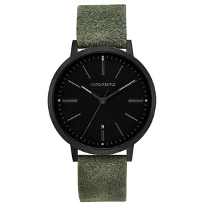 Watch People Uhr Hidden Black - 39 mm