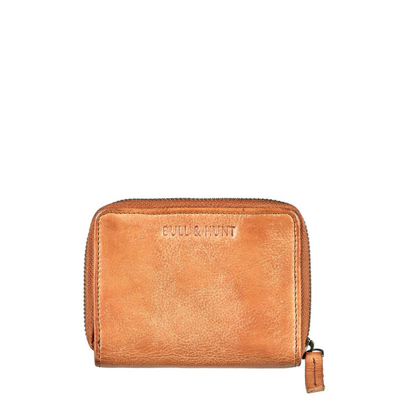 MIDI ZIP WALLET LIGHT TAN von Bull & Hunt