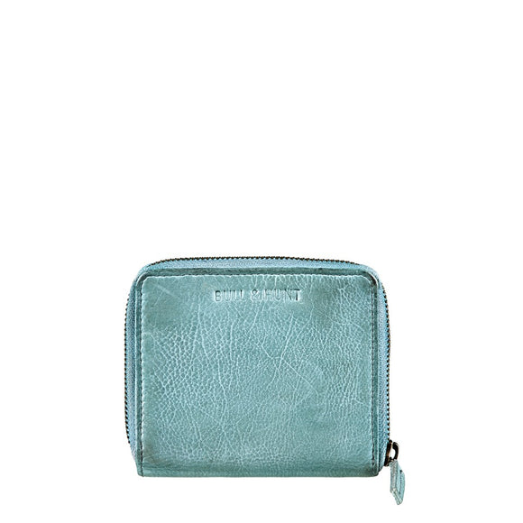 MIDI ZIP WALLET STEEL BLUE von Bull & Hunt