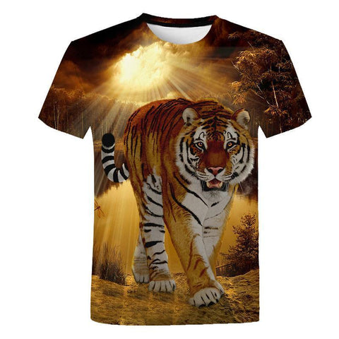Collection T-shirt Tigre