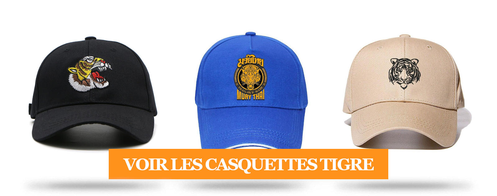 Collection Casquette Tigre