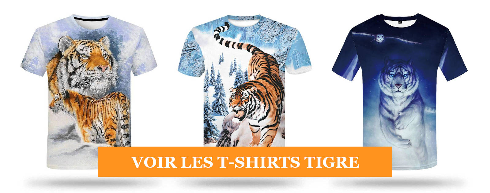 Collection T-shirts Tigre