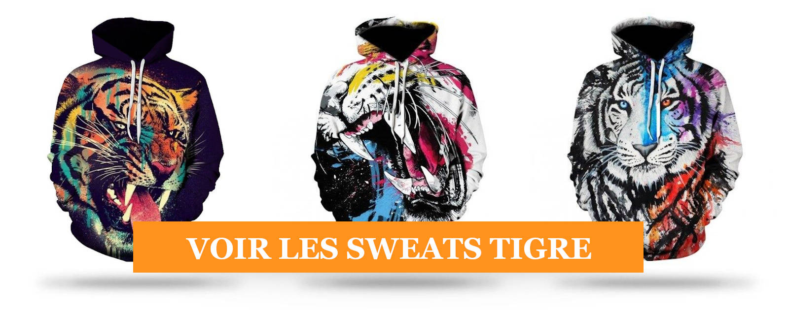 Collection sweats Tigre
