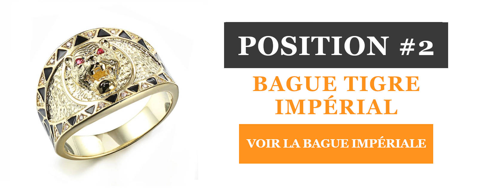 Bague Tigre en Or