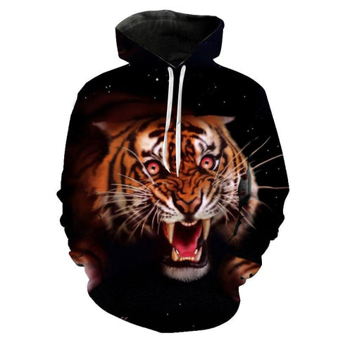 Sweat Tigre Folie Sanguinaire