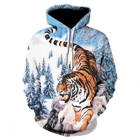 Sweat Tigre Prince des Neiges