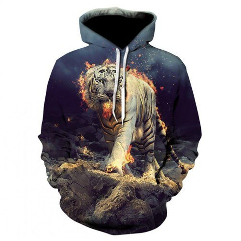 Sweat Tigre de Feu