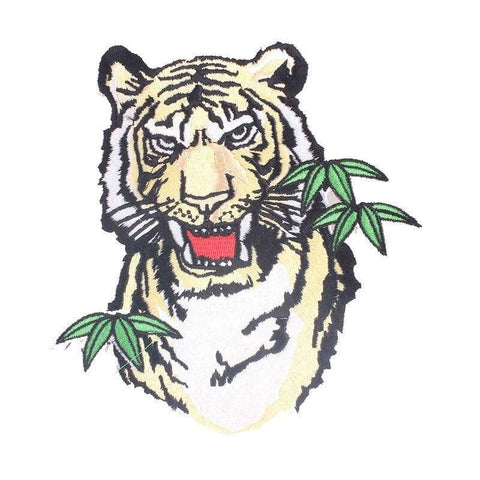 Patch Tigre Jungle Sauvage