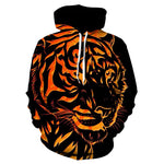Sweat Flammes du Tigre