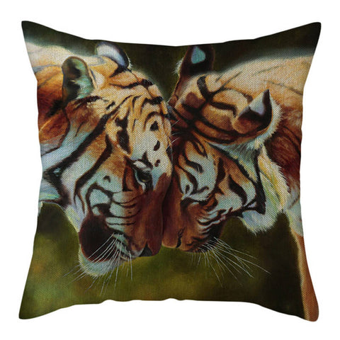 Coussin Tigre Amour Maternel
