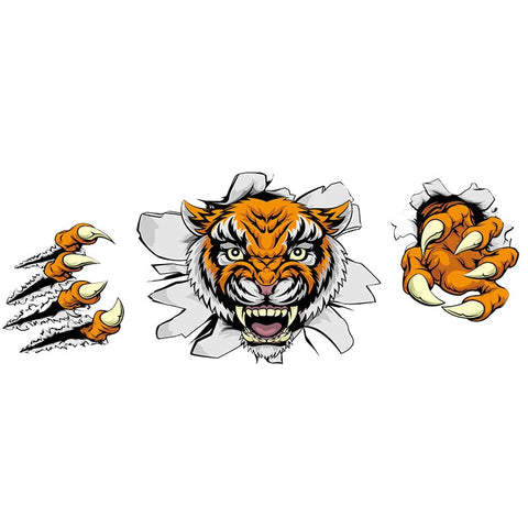 Sticker Tigre Cartoon