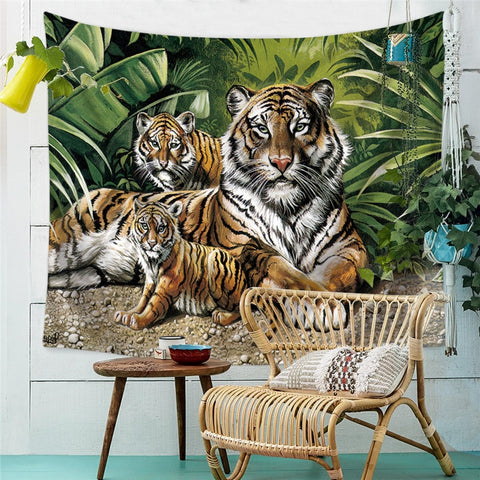 Poster Tigre de la Jungle