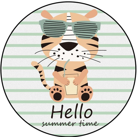 Tapis Tigre Summer Time