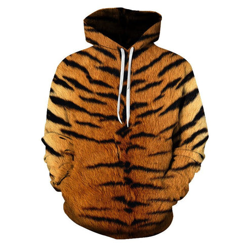 Sweat Tigre Motif Tigré