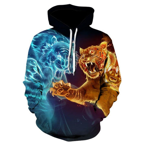 Sweat Tigre Feu vs Glace