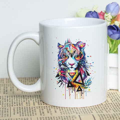 Mug Tigre Pop-art