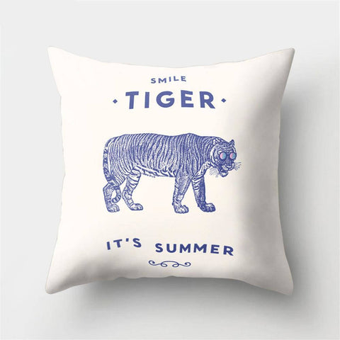 Coussin Tigre Summer