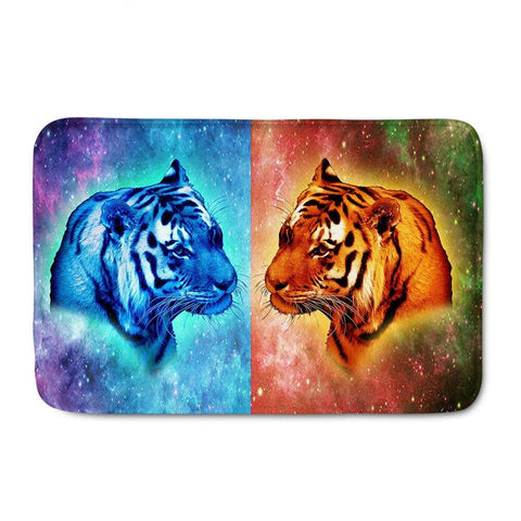 Tapis Tigre Double Univers