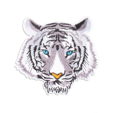 Patch Tigre Blanc
