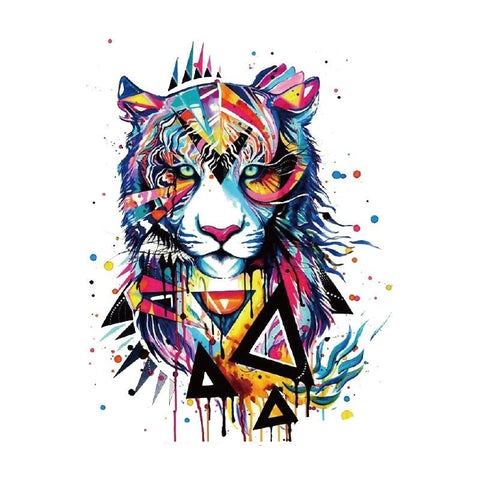 Patch Tigre Pop-Art