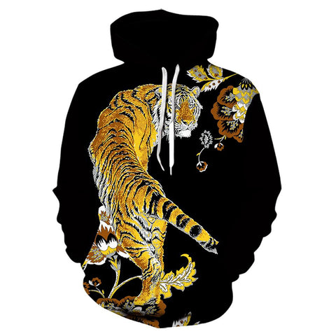 Sweat Tigre Doré