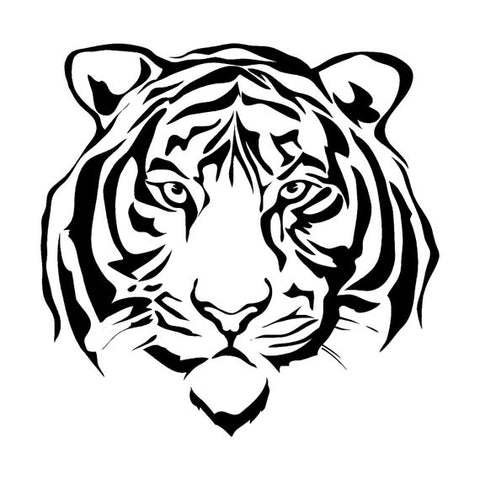 Sticker Tigre Blanc