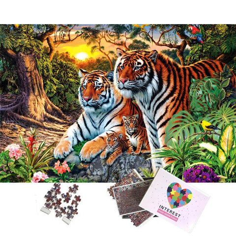Puzzle Jungle du Tigre