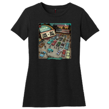 Load image into Gallery viewer, The American Drive In Ladies Black Tee